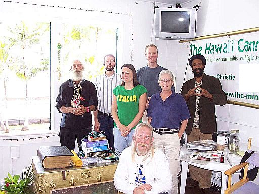 A typical day at the THC Ministry Sanctuary in Hilo,